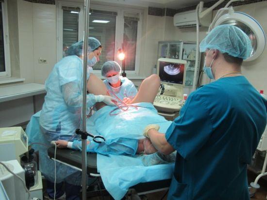 Операция на половых органах