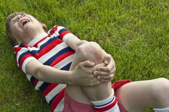 Боль в ноге у ребенка