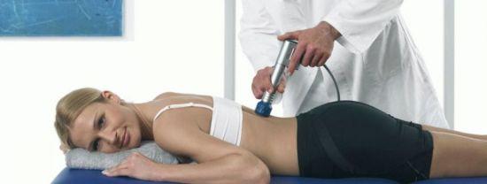 Физиотерапия для спины
