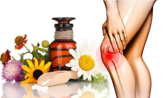 Народные средства от боли в колене