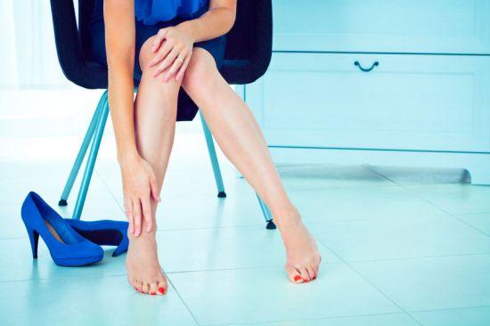 Боль в ногах от хождения на каблуках