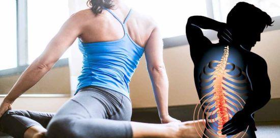 Боль в спине от скручиваний в спортзале