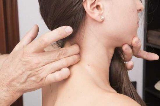 Проверка мышц шеи