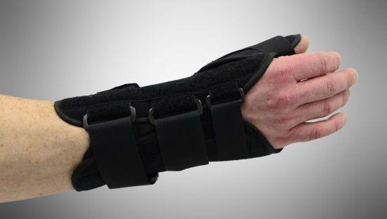 Шина на руке