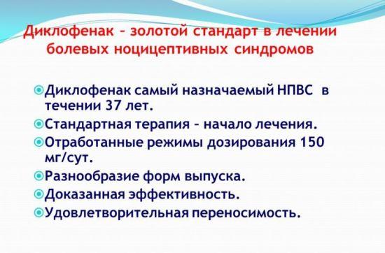Информация о диклофенаке