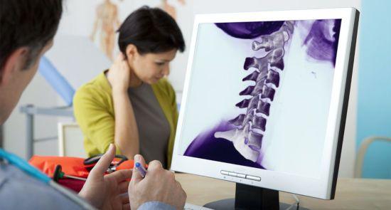 МРТ-снимок шеи