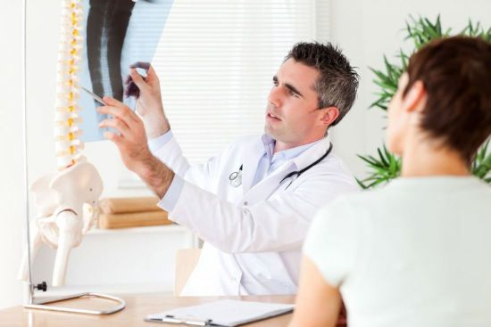 Оценка рентген-снимка позвоночника