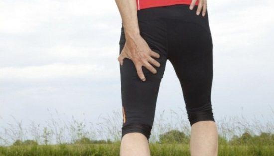 Боль в ноге сзади