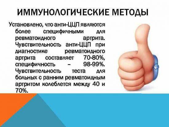"""Рамка """"Иммунологические методы"""""""