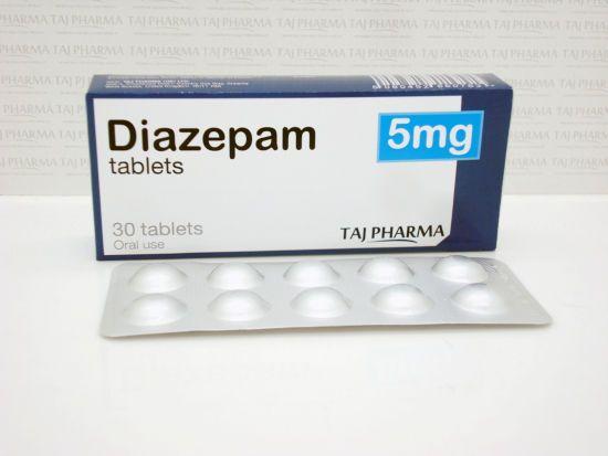 Таблетки Диазепам