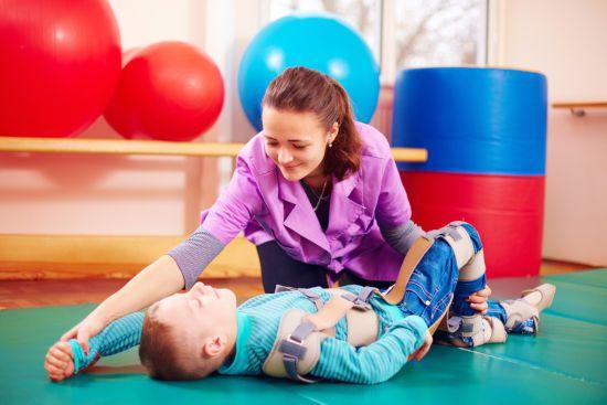Гимнастика с ребенком с ДЦП