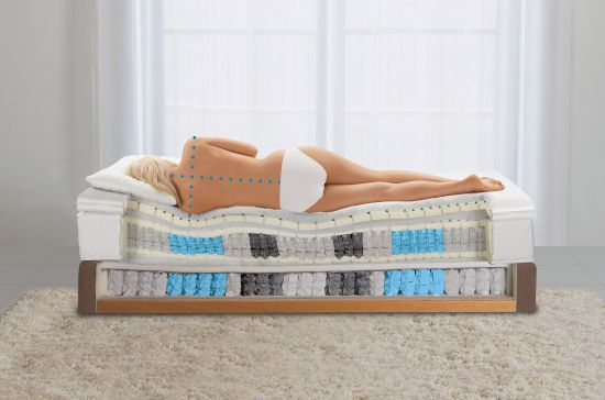 Ортопедический матрас и подушка
