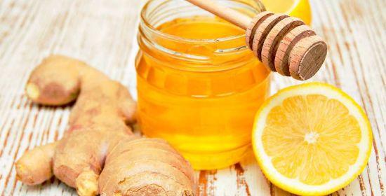 Мед, имбирь, лимон