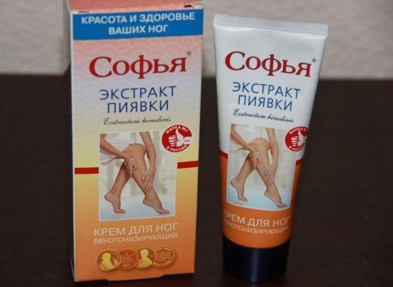 Крем Софья с экстрактом пиявки