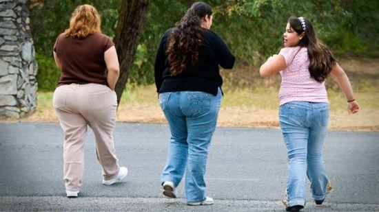 Девочки с лишним весом