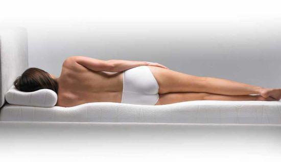 Сон на ортопедическом матраце и подушке
