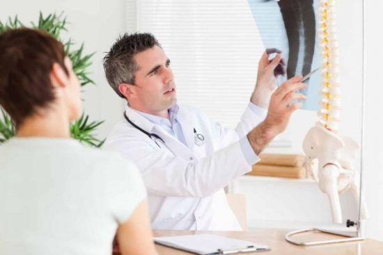 Оценка рентген-снимка врачом