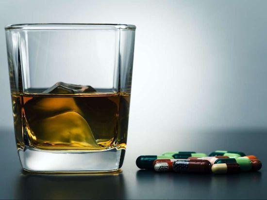 Алкоголь и лекарства