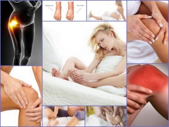Боли в суставах у беременной