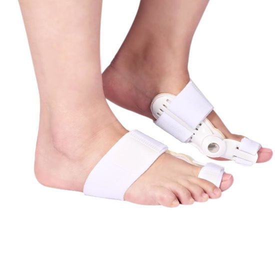 Шины на пальцах ног