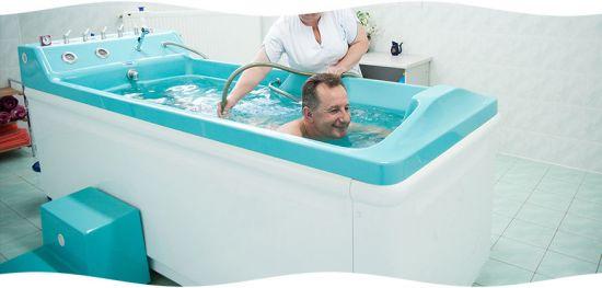 Принятие лечебной ванны