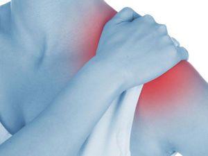 При поднятии руки вверх боль в плече