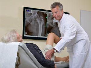 Проверка работы тазобедренного сустава