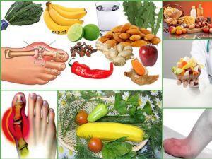 Диета при подагре на ногах: разрешенные и запрещенные продукты