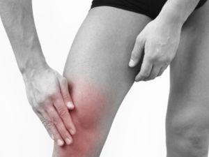 Воспаленное колено