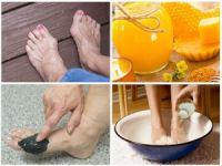 Ванночки, мед, грязевые аппликации для ног