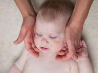 Массаж шейных мышц ребенка