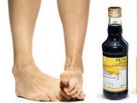 Медицинская желчь и ноги